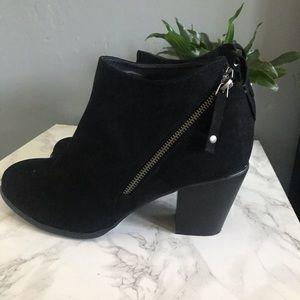 Torrid black heel ankle boots